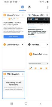 CryptoTab Browser Pro—mine on a PRO level screenshot 6