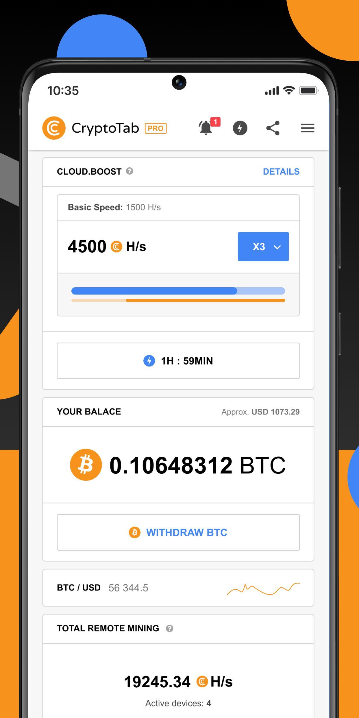 scarica cryptotab pro gratis