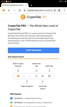 CryptoTab Browser Pro—mine on a PRO level screenshot 10