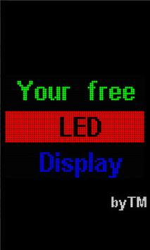 Free LED Display poster