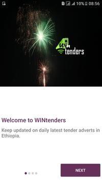 WINtenders poster