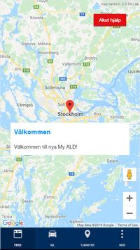 My ALD Sweden poster