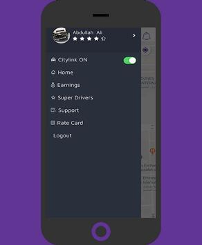 City link Driver screenshot 1