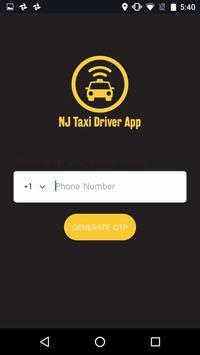 NJ Taxi Driver App screenshot 1