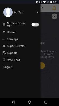 NJ Taxi Driver App screenshot 2