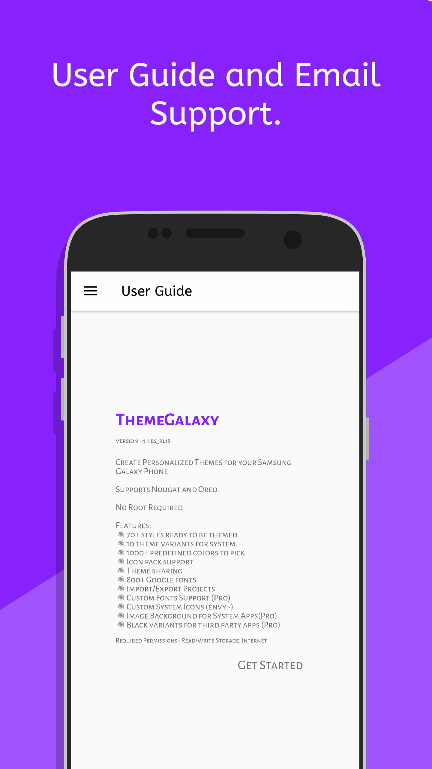 theme Galaxy - Theme Maker for Samsung Galaxy for Android