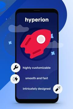 Hyperion Launcher Pro / Plus Screenshot