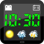 Weather Night Dock Free icon