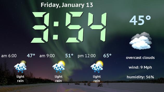 Weather Night Dock Free screenshot 6