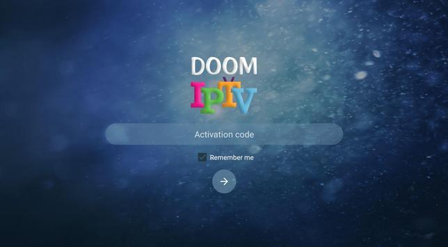 DOOM IPTV PRO تصوير الشاشة 1