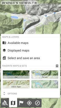 AlpineQuest Off-Road Explorer (Lite) تصوير الشاشة 1