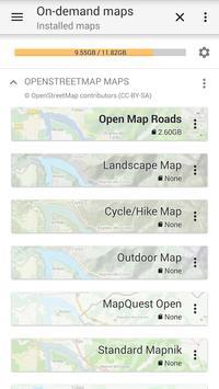 AlpineQuest Off-Road Explorer (Lite) تصوير الشاشة 4