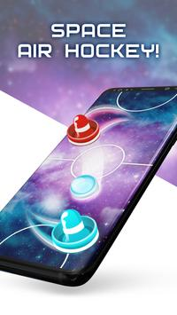 Two Player Games: Air Hockey poster