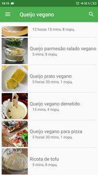 Receitas de Queijo vegano grátis em portuguesas screenshot 1