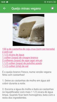 Receitas de Queijo vegano grátis em portuguesas screenshot 2