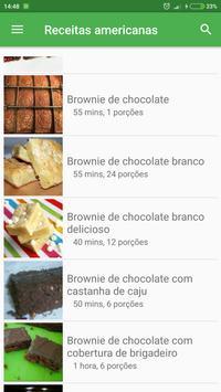 Comida & Receitas americanas grátis em portuguesas screenshot 2
