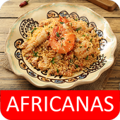 Comida Africanas receitas grátis em portuguesas icon