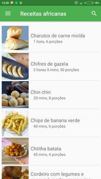 Comida Africanas receitas grátis em portuguesas poster