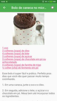 Receitas fáceis e rápidas grátis em portuguesas screenshot 2