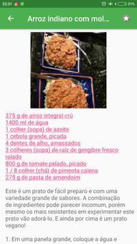 Comida Indiana grátis em portuguesas screenshot 2