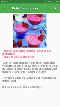 Receitas light grátis em portuguesas screenshot 1