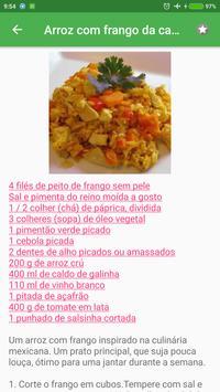 Receitas mexicanas grátis em portuguesas screenshot 1