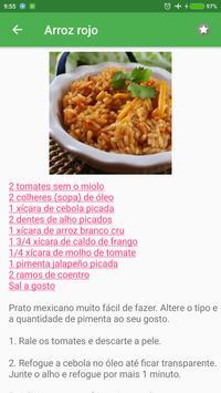 Receitas mexicanas grátis em portuguesas screenshot 2