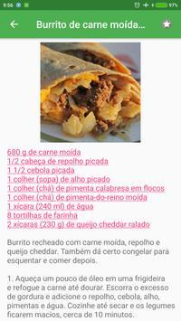 Receitas mexicanas grátis em portuguesas screenshot 3