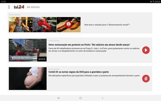 TVI24 imagem de tela 16