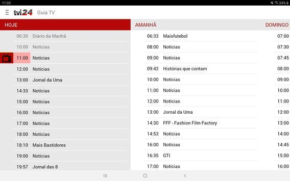 TVI24 imagem de tela 11