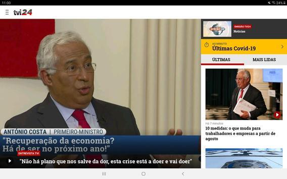TVI24 imagem de tela 13