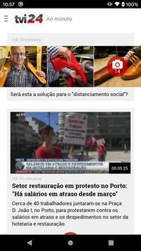 TVI24 imagem de tela 4