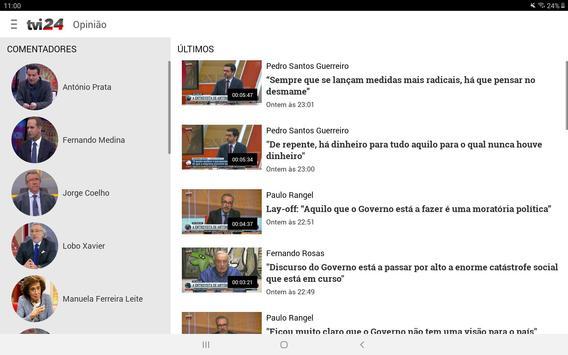 TVI24 imagem de tela 8