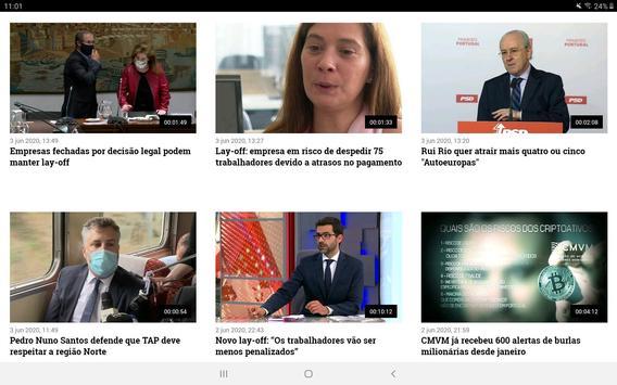 TVI24 imagem de tela 9