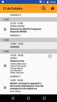 SPEMD Congresso Anual screenshot 1