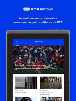 RTP Notícias screenshot 3