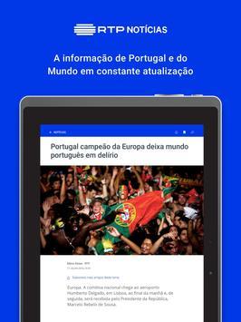 RTP Notícias screenshot 4