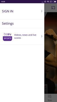 beIN SPORTS CONNECT screenshot 3