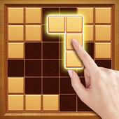 Wood Block Puzzle - Free Classic Block Puzzle Game icon