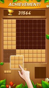 Wood Block Puzzle - Free Classic Block Puzzle Game screenshot 4