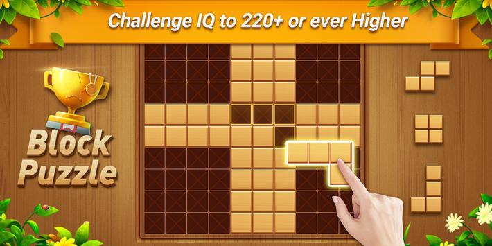 Wood Block Puzzle - Free Classic Block Puzzle Game screenshot 6