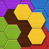 Hexa Wood Puzzle Zeichen