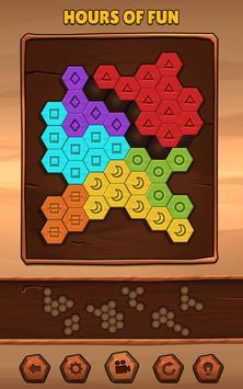 Hexa Wood Puzzle تصوير الشاشة 7