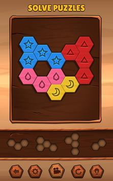Hexa Wood Puzzle تصوير الشاشة 6