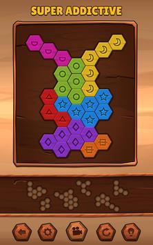 Hexa Wood Puzzle تصوير الشاشة 8