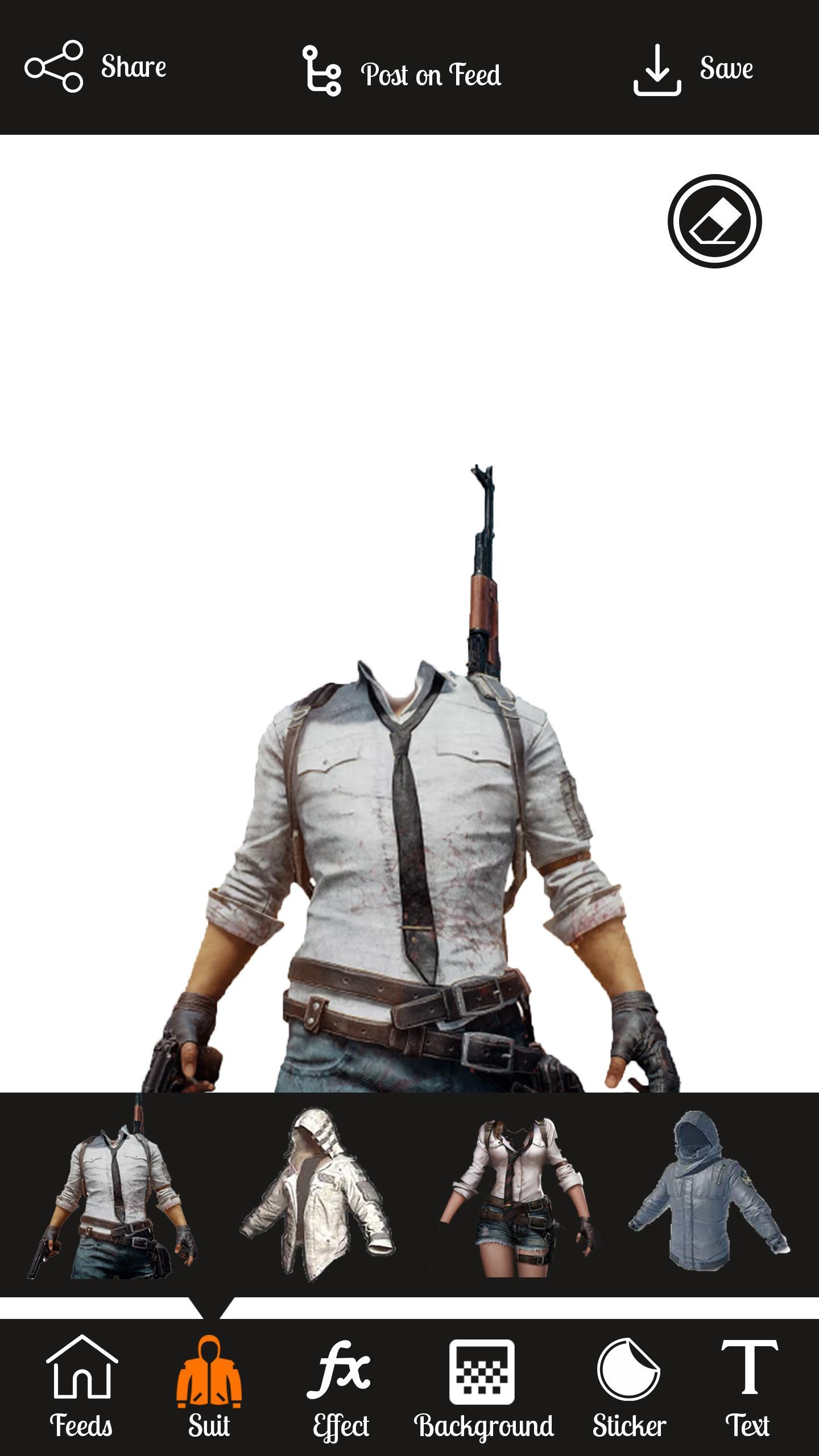 Pubg Photo Suit Photo Editor Pubg Stickers Free For