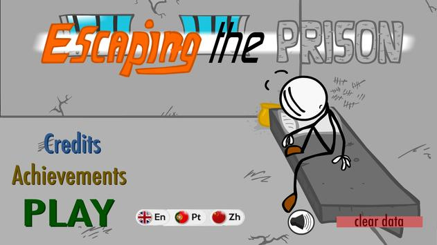 Escaping the prison, funny adventure poster