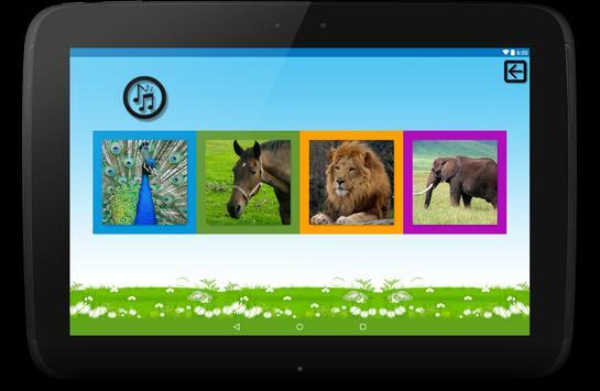 Learn animal sounds screenshot 3