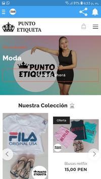 Punto Etiqueta Tienda Online screenshot 1