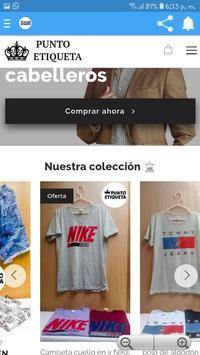 Punto Etiqueta Tienda Online screenshot 2